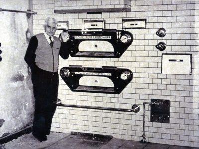 1960 ca Bäckermeister Adam Kistner